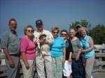 Tour of Leelenau Peninsula with Ed, MaryLou, Uhl, Nancy, Mary, Nan, Eldon, Ann